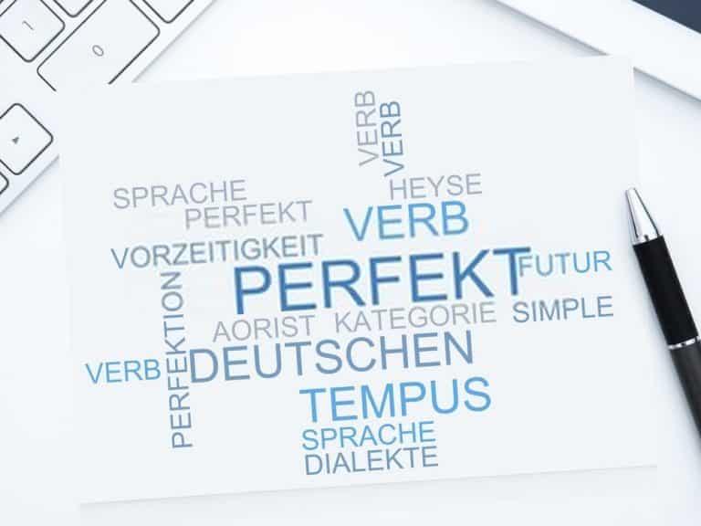 شرح الماضي التام Das Perfekt