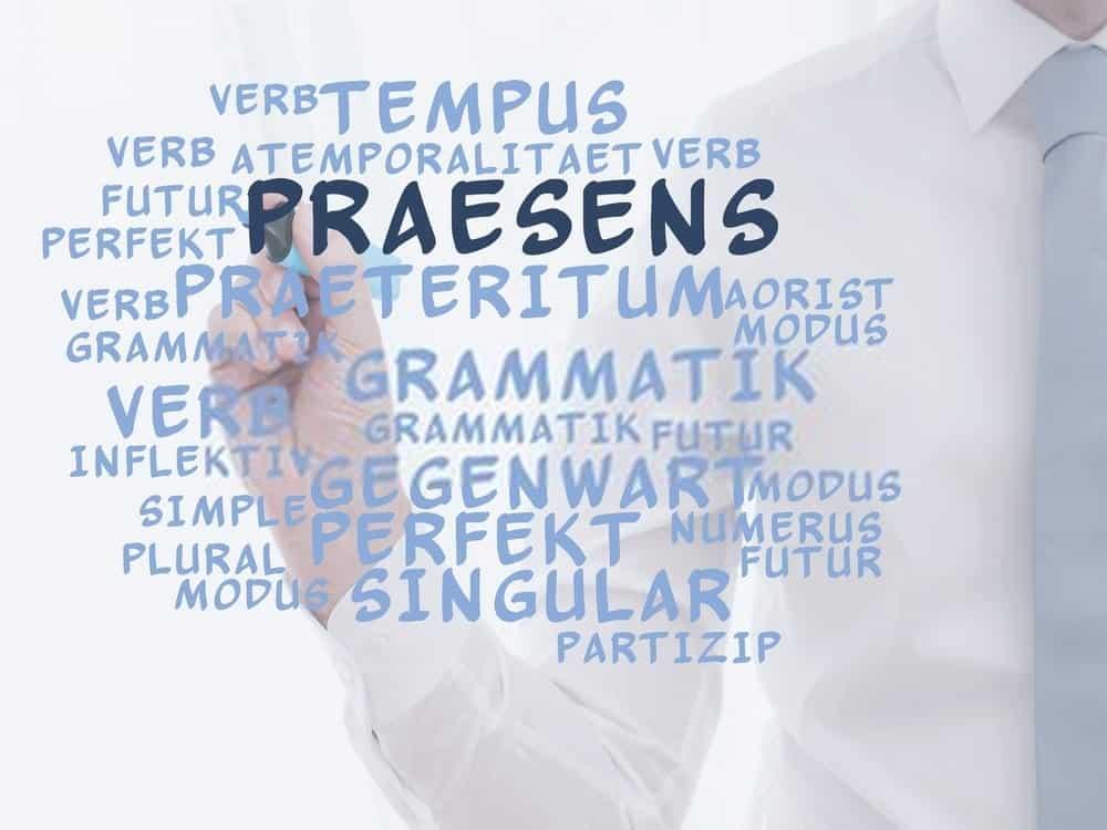 شرح تصريف الفعل المضارع في اللغة الالمانية Präsens