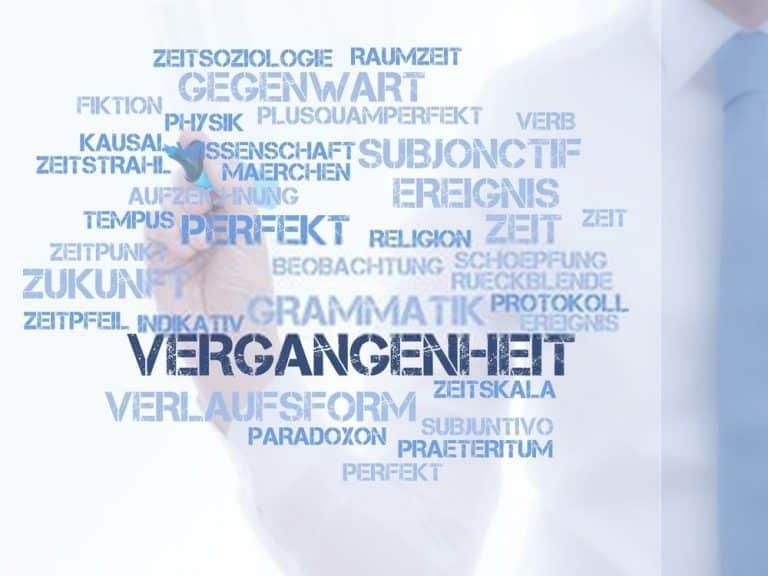 شرح زمن الماضي البسيط Präteritum فى اللغة الالمانية
