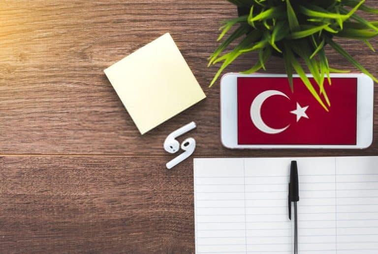 شرح قاعدة الجمع في اللغة التركية
