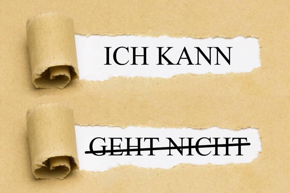 Modalverben أفعال الكيفية في اللغة الألمانية
