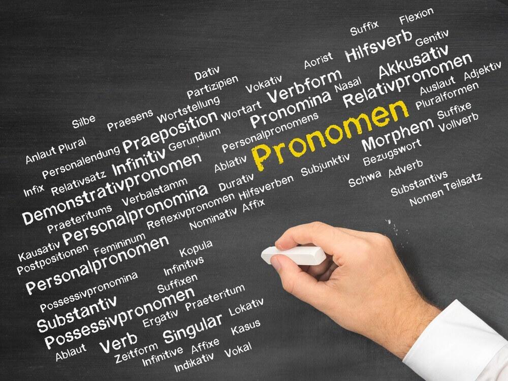 الضمائر في اللغة الالمانية Die Pronomen